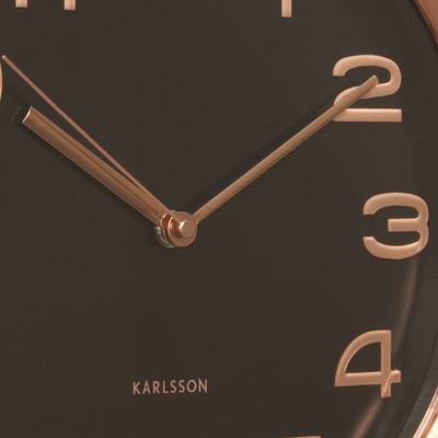 Karlsson Maxie Copper Clock - Black image 3