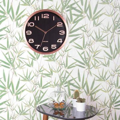 Karlsson Maxie Copper Clock - Black image 4