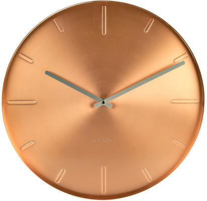 Karlsson Belt Wall Clock - Copper
