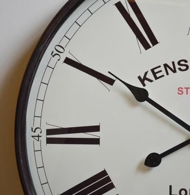 Pocket Watch Vintage Wall Clock - Brass image 3