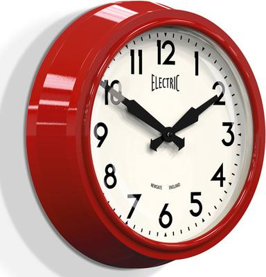 Newgate 50s Electric Wall Clock - Red image 2
