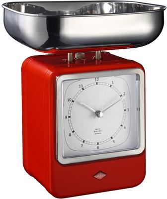 Wesco Retro Scales with Clock - Red image 2