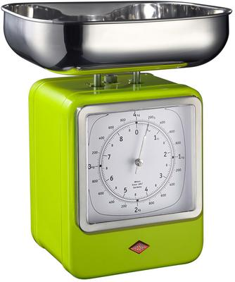 Wesco Retro Scales with Clock - Lime Green image 2