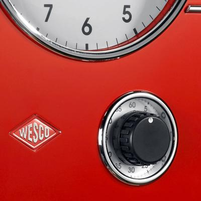 Wesco Classic Line Kitchen Clock - Red image 2