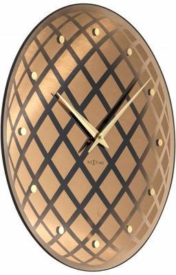 NeXtime Pendula Round Clock - Copper image 2