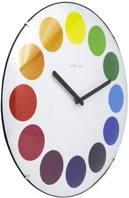 NeXtime Dots Dome Clock - White image 2