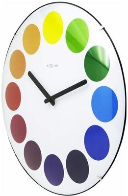 NeXtime Dots Dome Clock - White image 3
