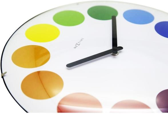 NeXtime Dots Dome Clock - White image 5
