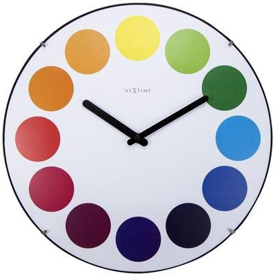 NeXtime Dots Dome Clock - White