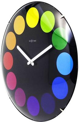NeXtime Dots Dome Clock - Black image 2