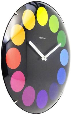 NeXtime Dots Dome Clock - Black image 3