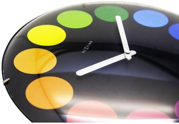 NeXtime Dots Dome Clock - Black image 4