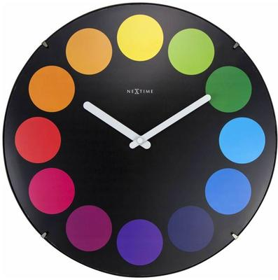 NeXtime Dots Dome Clock - Black