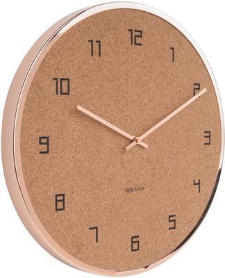 Karlsson Modest Cork Wall Clock - Copper image 2