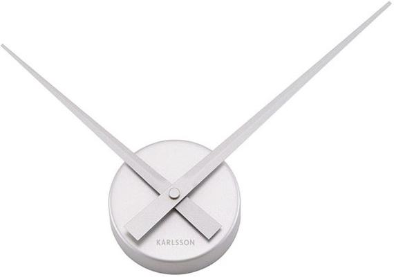 Karlsson Little Big Time Clock Mini - Silver