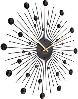 Karlsson Sunburst Large Wall Clock - Black image 2