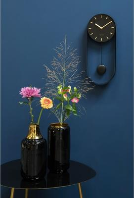 Karlsson Pendulum Charm Wall Clock - Black image 4