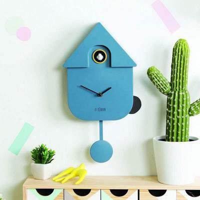 Cuckoo House Clock - Blue