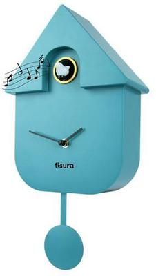 Cuckoo House Clock - Blue image 2