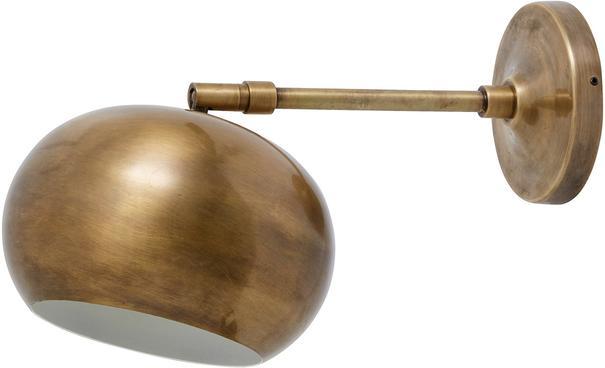 Metal Orb Wall Lamp