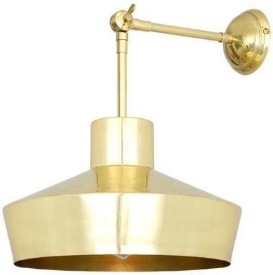 Elegance Brass Wall Light