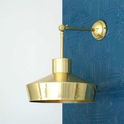 Elegance Brass Wall Light image 2