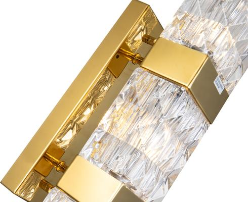 Milo Wall Lamp Polished Gold or Steel image 3