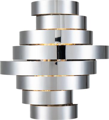 Volcano Ribbon Wall Lamp in Polished Gold or Steel image 4