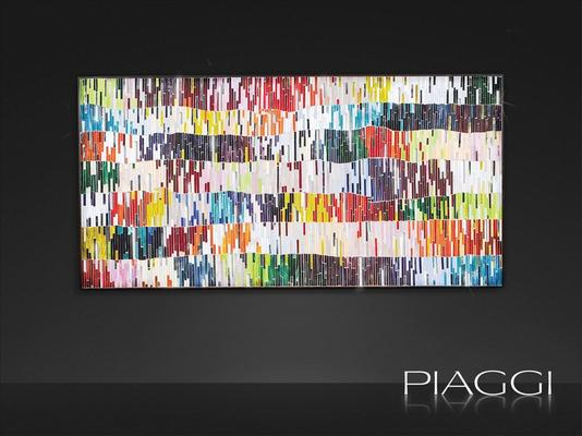 PIAGGI Shimmer decorative glass mosaic Panel image 2