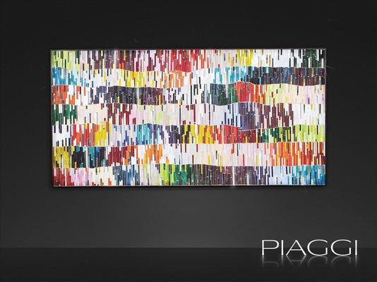 PIAGGI Shimmer decorative glass mosaic Panel image 2