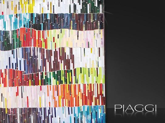 PIAGGI Shimmer decorative glass mosaic Panel image 3