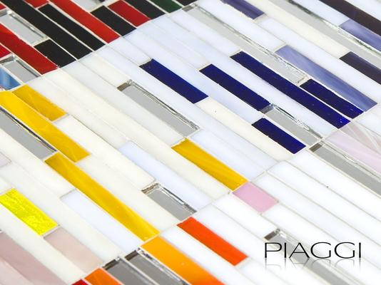 PIAGGI Shimmer decorative glass mosaic Panel image 4