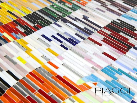 PIAGGI Shimmer decorative glass mosaic Panel image 5