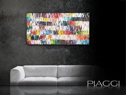 PIAGGI Shimmer decorative glass mosaic Panel image 6