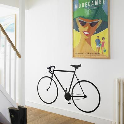 Racing Bike Wall Sticker