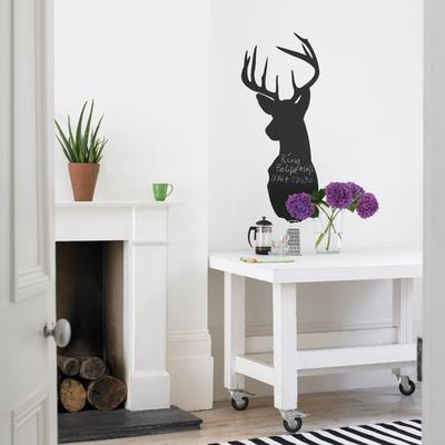 Stag Blackboard Wall Sticker