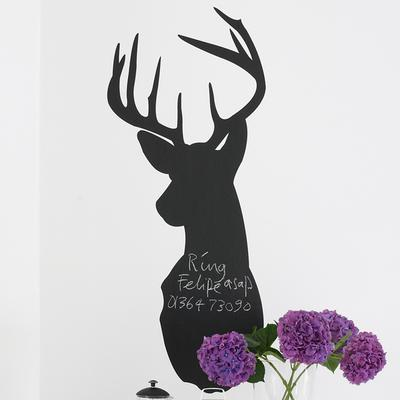Stag Blackboard Wall Sticker image 2