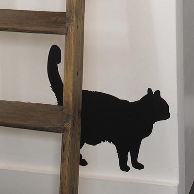 Black Cat Wall Sticker image 2