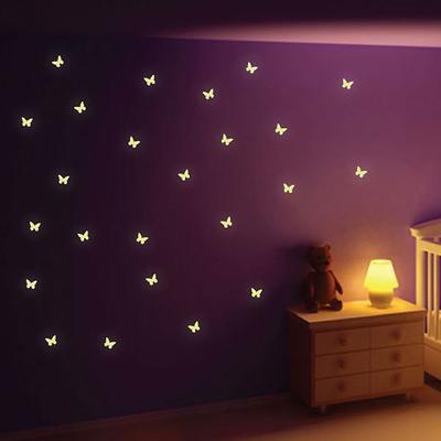 Glow in the Dark Butterfly Wall Stickers
