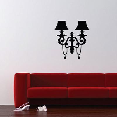 Wall Lamp Wall Sticker