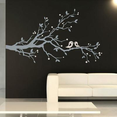Birds & Blossom Wall Sticker