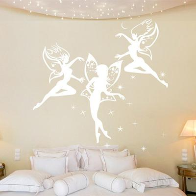 Dancing Fairies Wall Sticker