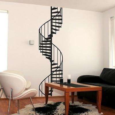 Spiral Staircase Wall Sticker