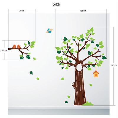 Jungle Tree Wall Sticker image 2