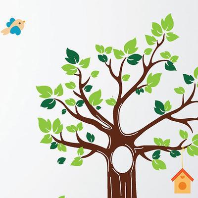 Jungle Tree Wall Sticker image 3
