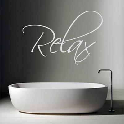 Relax Wall Sticker - Large