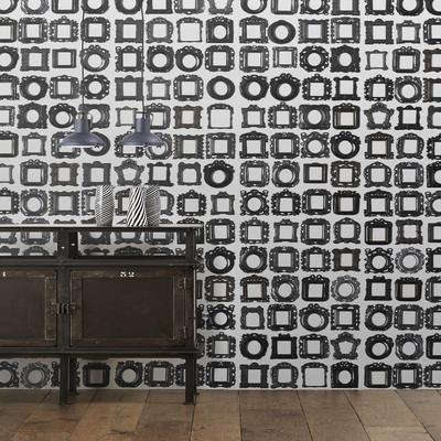 Obsession Frames Wallpaper Roll by Daniel Rozensztroch
