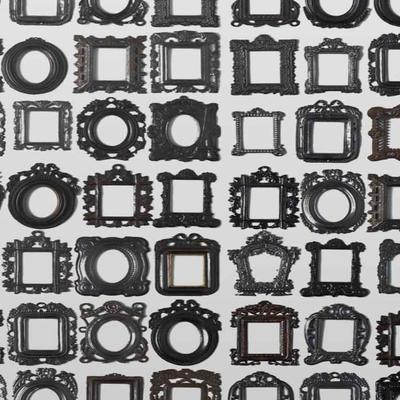 Obsession Frames Wallpaper Roll by Daniel Rozensztroch image 2