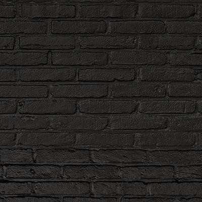 Black Brick Wallpaper by Piet Hein Eek image 2