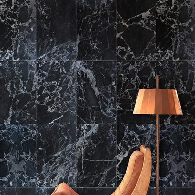 Black Marble Wallpaper by Piet Hein Eek